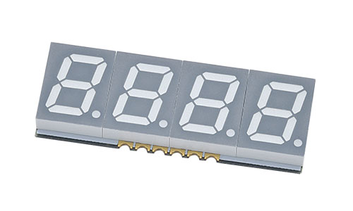 Quad Digits SMD Display